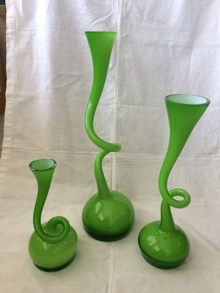 Glas, Swinger vaser, Swinger