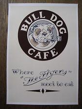 "The Rocketeer ( 11"" x 15-3/4"" ) Bulldog Cafe Menu Poster - B2G1F"