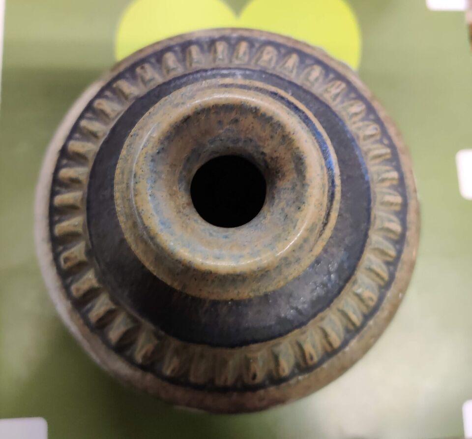 Keramik, Vase H:11 Ø:13, Løvemose