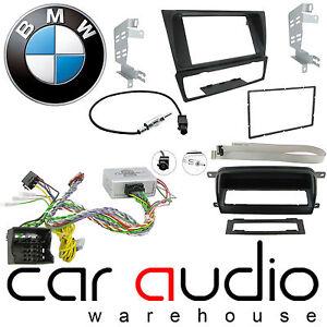 Bmw Serie 3 E90 E91 E92 E93 auto estéreo Facia /& interfaz de volante ctkbm01