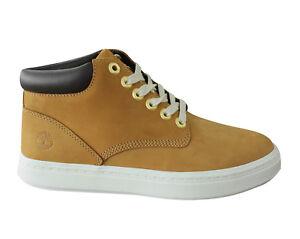 Timberland Londyn Chukka Nubuck Leather Womens Boots Wheat