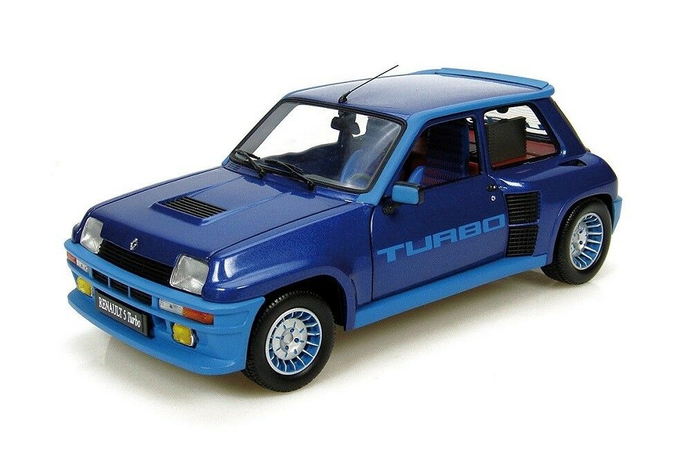 Renault 5 Turbo  bleu Metallic  (Universal Hobbies 1 18   4521)