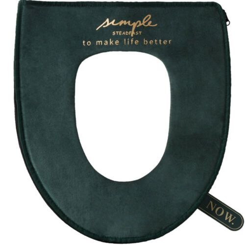 Soft Warm Comfortable Toilet Seat Cover with Handle Toilet Seat Covers