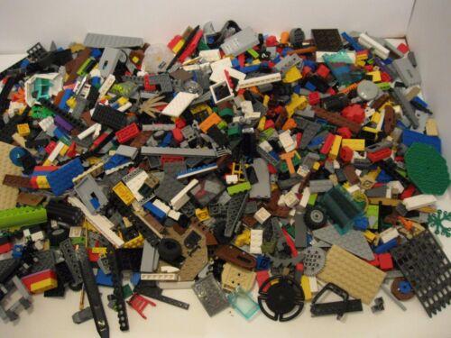 Lego 4 pounds 7 oz Parts /& Pieces HUGE BULK LOT bricks parts used