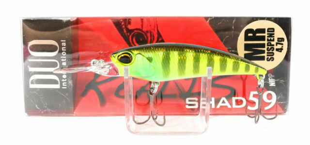 Select Color s DUO Realis Shad 59MR Suspending Crankbait Lure