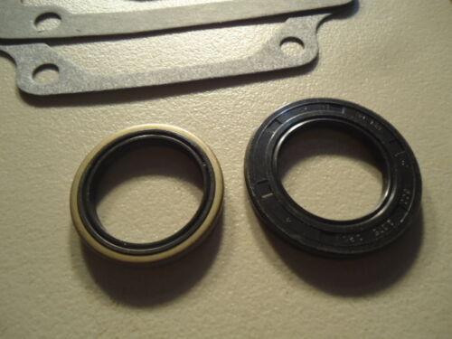 NEW Engine Ring Refresh Kit Chrome Rings /& Gasket Set for Kohler K301 12 hp