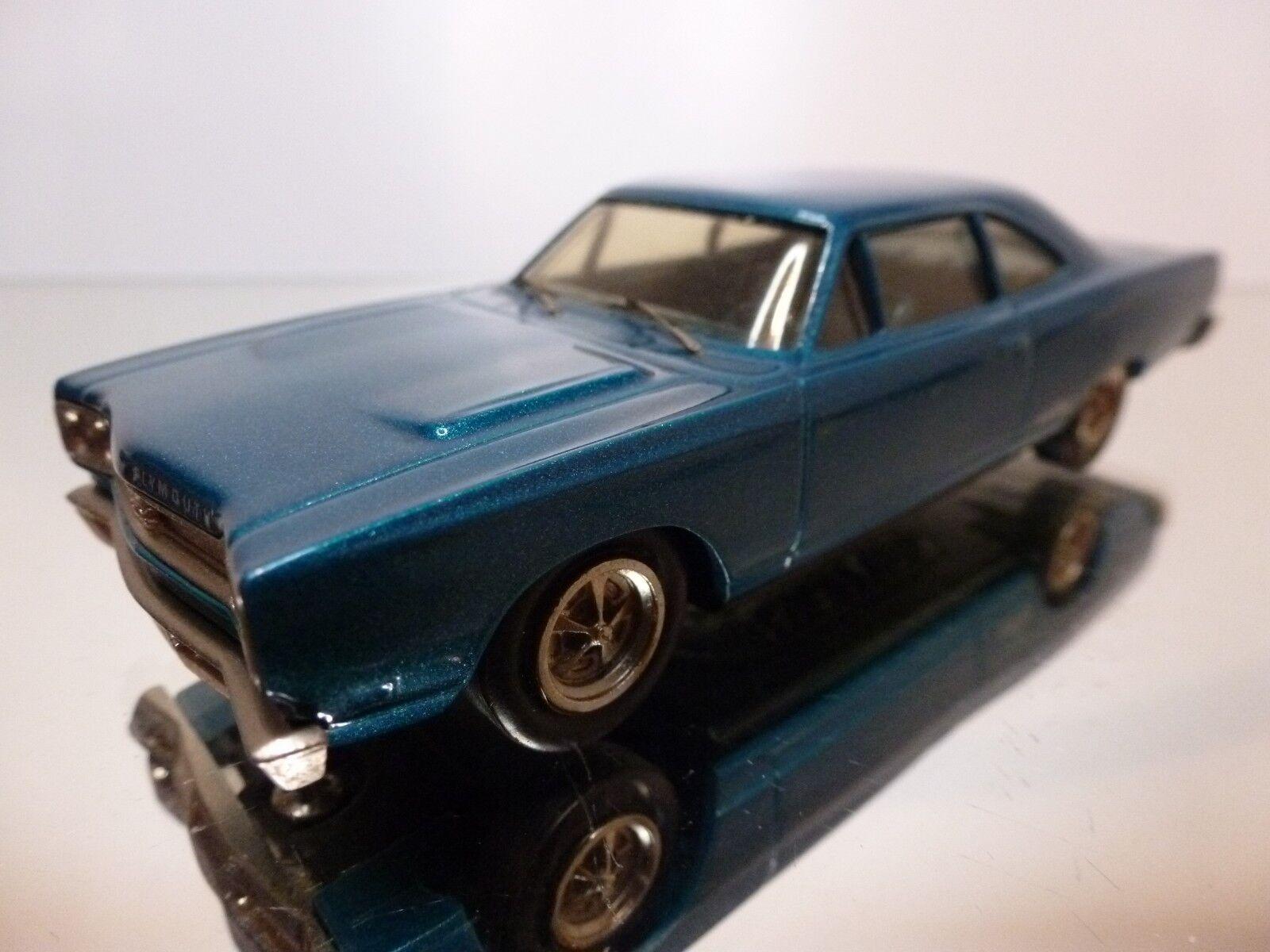 CENTURY 11 PLYMOUTH GTX 1969 - azul METALLIC 1 43 - EXCELLENT CONDITION - 7