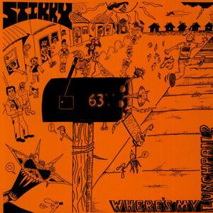 Stikky - Where's My Lunchpail? (Vinyl LP - 1988 - UK - Original)