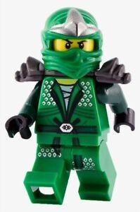 LEGO Ninjago Lloyd ZX Garmadon Minifigure Green Ninja Figure 9450 9574