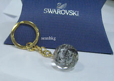 Dancing Ganesha, Elephant God Crystal Ball Key Ring Swarovski Event Gift 5113221