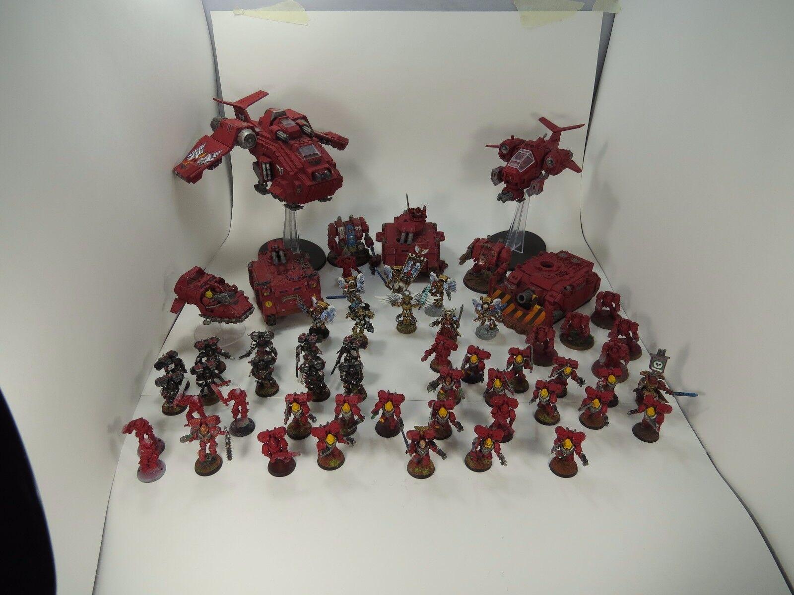 punto de venta    Lote De Ejército De Warhammer 40k Blood Angels  mejor calidad