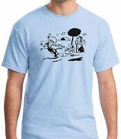 Krazy Kat Jules T Shirt 100% Cotton Gildan Prewashed