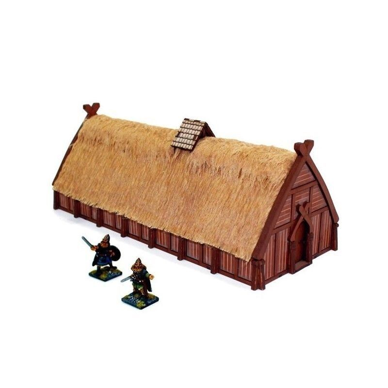4GROUND - Norse longhouse - 28mm - 28S-DAR-105