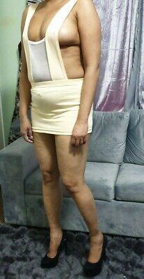 Mini Skirt Cleavage