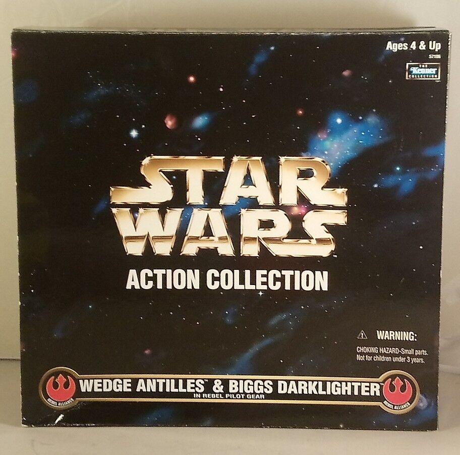 Star - wars - sammler - serie keil antillies und biggs wächter kenner 1997