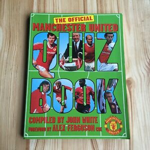 Manchester United Official Quiz Book Football Questions Answers Man U Game Ebay