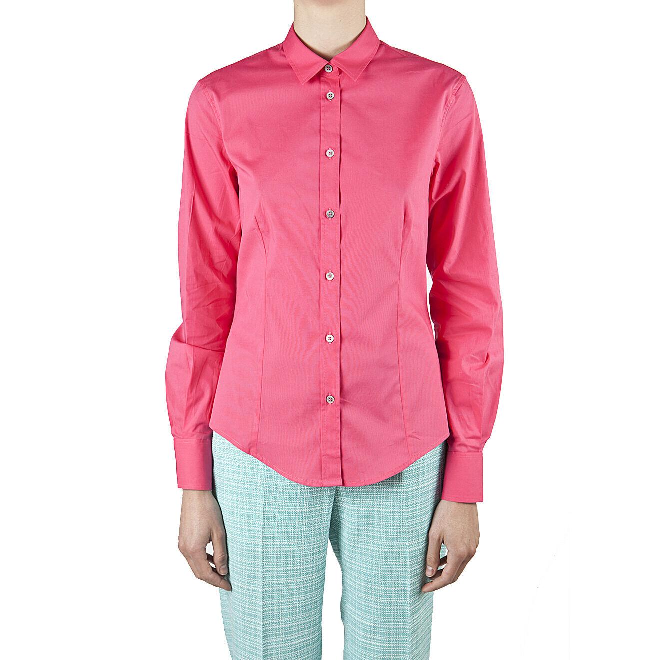Paul Smith camicia classica polsini rose, classic shirt roses cuff