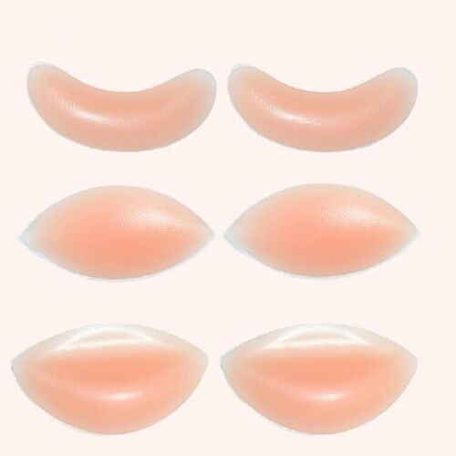 Silicone Gel Chicken Fillets Breast Enhancers Bra Inserts Cleavage Boost
