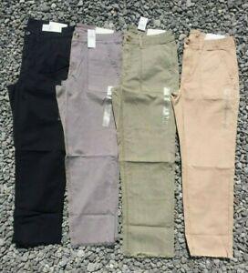 NWT American Eagle Women's Utility Crop Pants Super Stretch 6 / 8 / 10 / 12 / 14