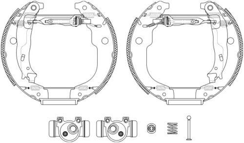 Mintex Rear Brake Shoe Set msp277-Brand new-genuine 5 Year Warranty
