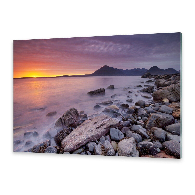 Vetro acrilico immagini Muro Immagine da plexiglas ® immagine Spiaggia Scozia