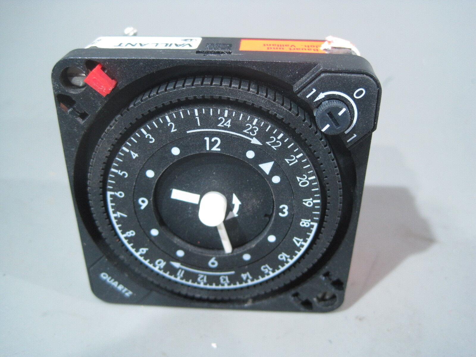 Vaillant QMRT B5 230v Uhr Zeitschaltuhr für Heizung  T55 R50h   (06)