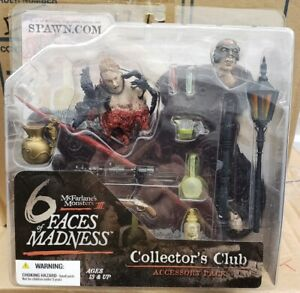 McFarlane-039-s-Monsters-III-6-Faces-of-Madness-Collectors-Club-Accessory-Pack