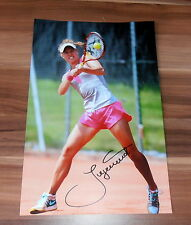 Laura vittorie bocca * Germany FedCup tennis * ORIGINALE SIGNED PHOTO 20x30 cm (8x12)