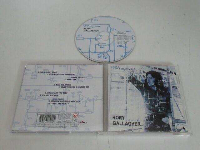Rory Gallagher/ Blueprint ( Rca Capo 104) CD Album