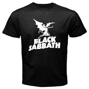 New-BLACK-SABBATH-Flying-Demon-Metal-Rock-Band-Men-039-s-Black-T-Shirt-Size-S-to-3XL