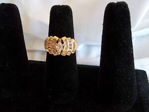 ALL-DIAMOND-RING-ON-A-14K-SOLID-YELLOW-GOLD-BAND