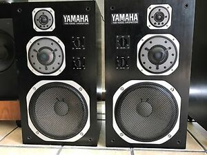 YAMAHA-NS-1000M-Studio-Monitor-Vintage-1975-Very-Rare-Original-Working-Perfect