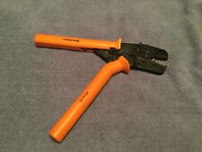 Burndy Mr25 Ratchet Crimper Electrical Tool Used