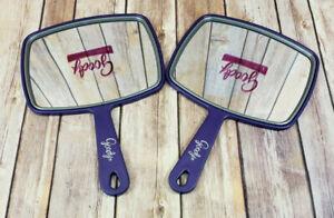 2 Purple Goody Medium Hand Mirror