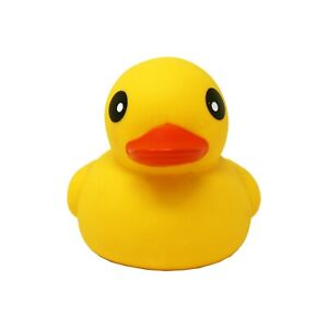 1-Pc-6-034-Baby-Rubber-Race-Squeaky-Big-Yellow-Duck-Kids-Bathing-Floating-Toys
