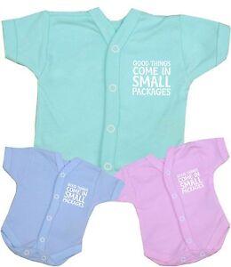 Babyprem Baby Clothes Premature Tiny Scbu Newborn Nicu Popper Vest