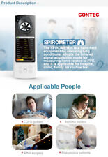 Sp80b Handheld Spirometer Lung Volume Device With Pc Software New Bluetooth
