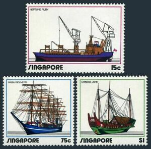 Singapore 164-166,166a,MNH.Michel 167-169,Bl.4. Industry,1972.Ships