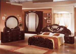 Neues Luxus Schlafzimmer Giada Mahagoni Oder Weiss Italienische