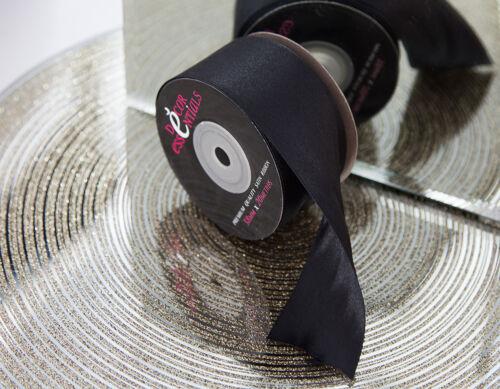 Décor Essentials double face ruban de satin 38 mm x 20 m Craft Fleuriste Papeterie