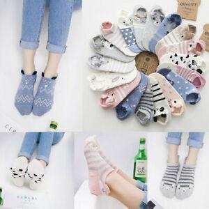 1-Pair-Kawaii-Women-Girls-Cute-Animal-Cartoon-Cat-Printed-Casual-Low-Cut-Socks