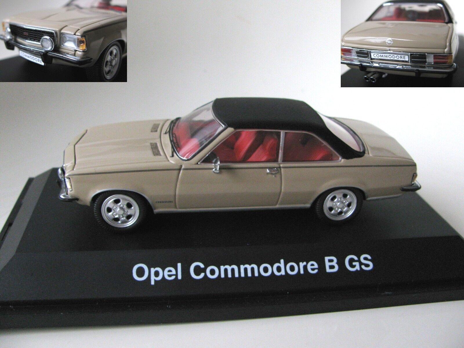 ¡envío gratis! 1 43 Schuco Opel Commodore B Gs Gs Gs Diecast  100% garantía genuina de contador