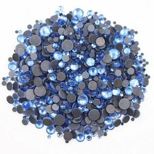 Piezas Piedras de Estrás 3D para Arte de Uñas Nail Art Decoración piedras de cristal Hot Fix