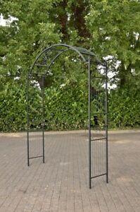 Détails sur Arche à rosiers Flexi en fer forgé - Arceau de jardin design et  pratique