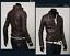 New-Men-039-s-Slim-Fit-Zipper-Designed-PU-Leather-Jacket-Coat-Free-Post-0309 thumbnail 6