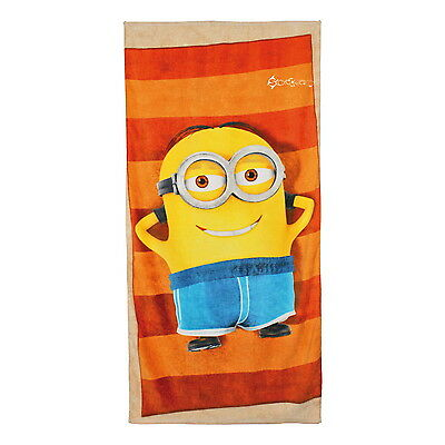 Official Despicable Me Minions Beach Bath Cotton Towel New Gift