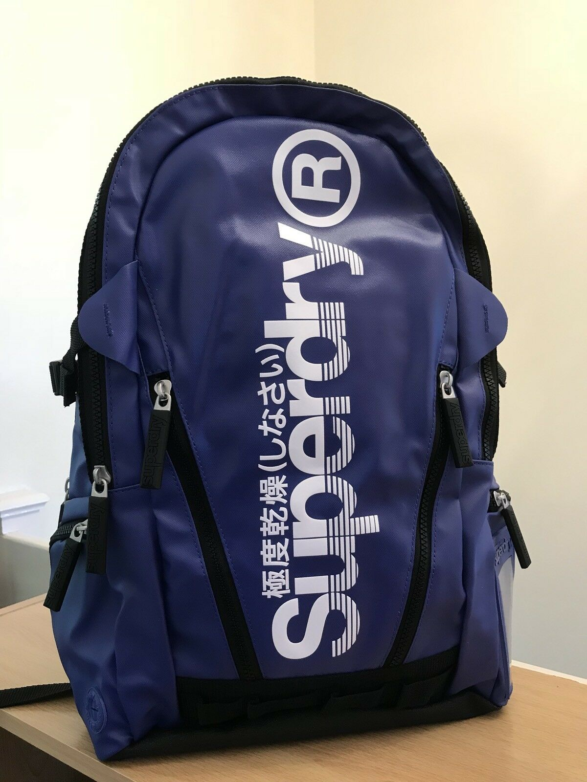 Black BNWT Superdry NEW Men/'s Camo J Tarp Backpack