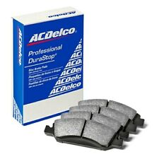 ACDelco 17D484 Professional Organic Front Disc Brake Pad Set