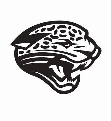 Jacksonville City Jaguar Sport Football Logo Die-Cut Sticker Decal