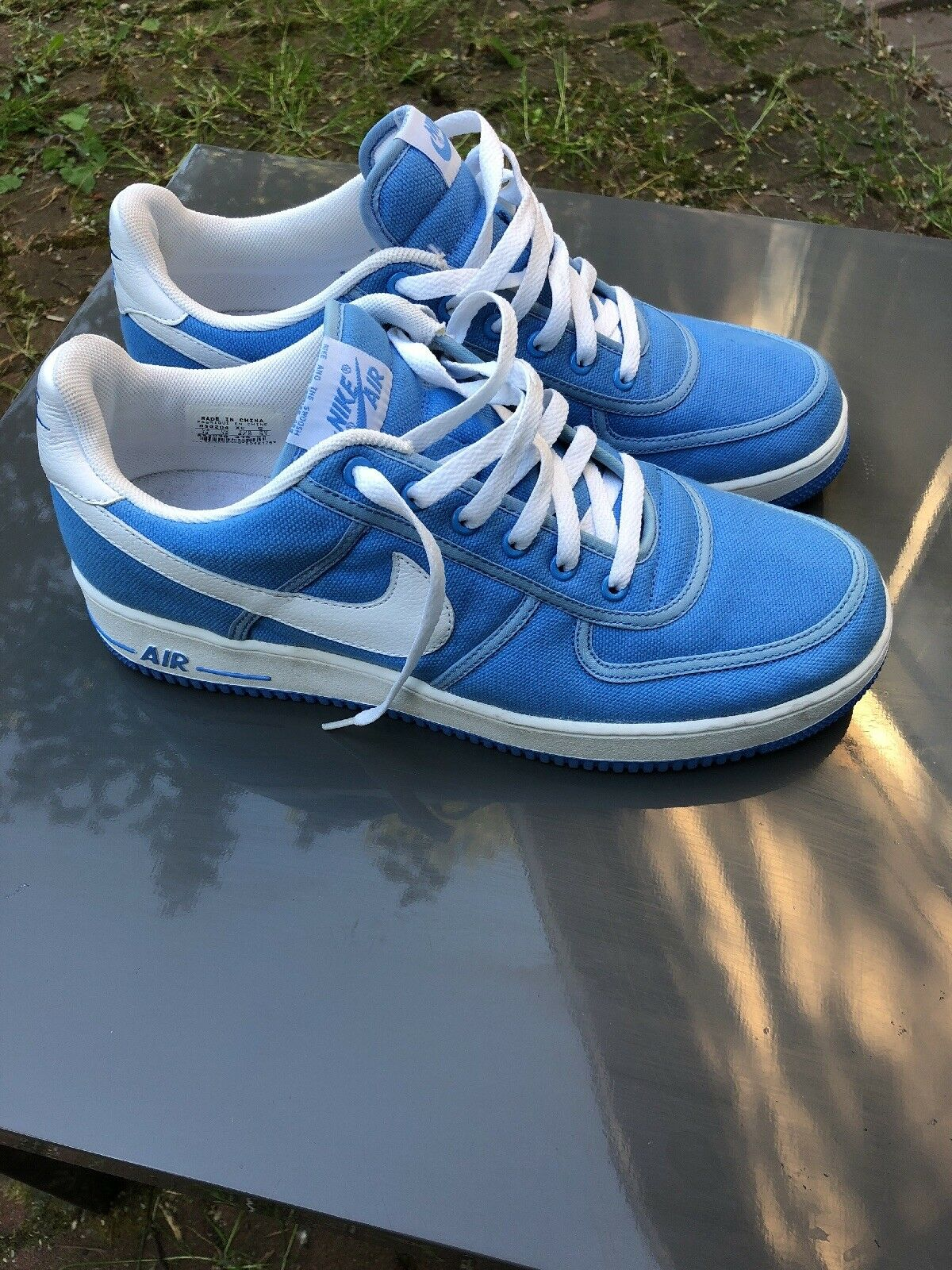 Air Force 1 basso Canvas (blu Carolina)  uomini 65533s;13  profitto zero